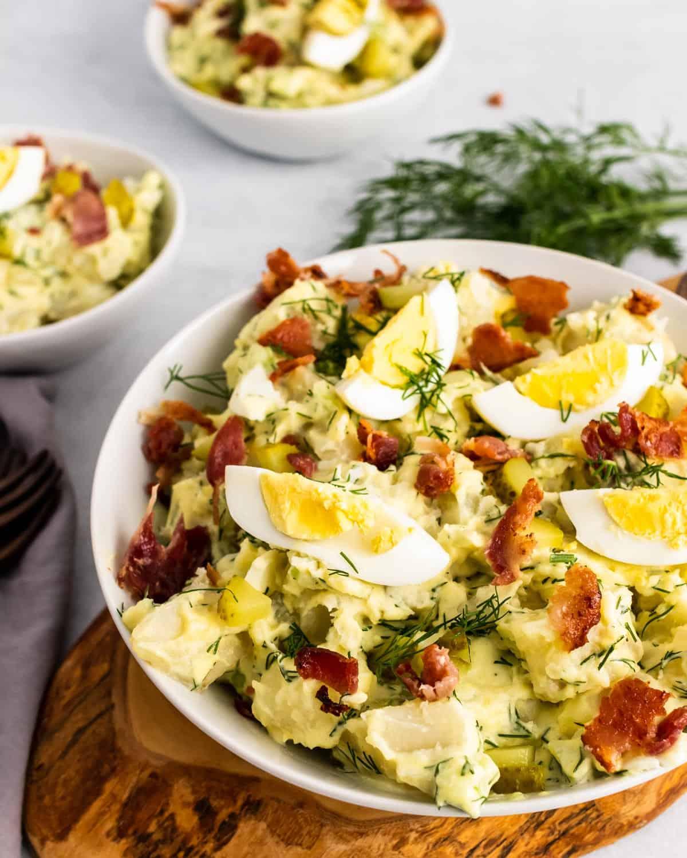 Serving Bowl of Potato Salad